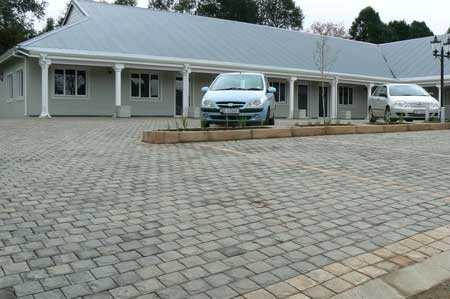 Paving for commercial parking